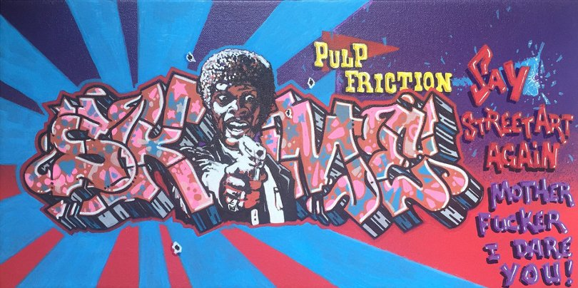 Skeme - Pulp Fiction, 2015 - Image source Dirty Pilot website