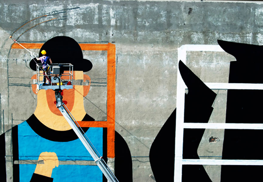 Italian street art