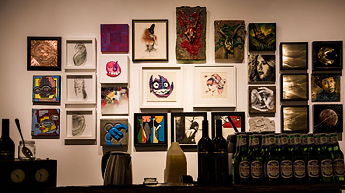 Street art group show