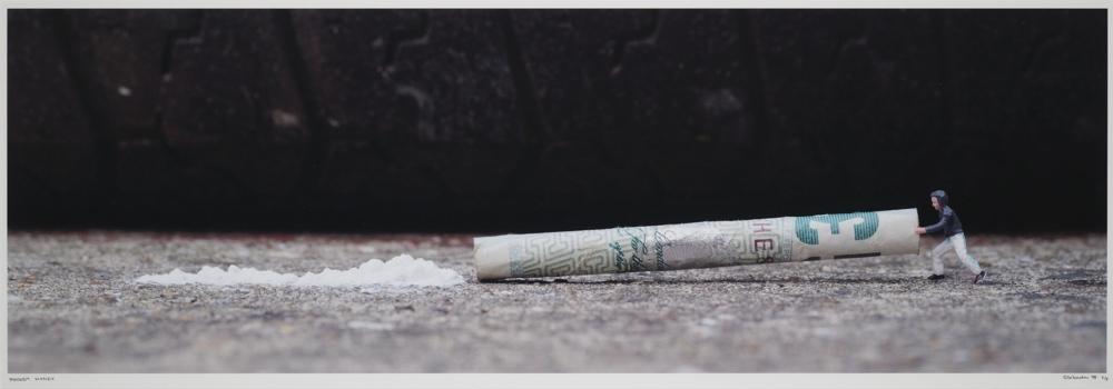 Slinkachu-Pocket Money-2008
