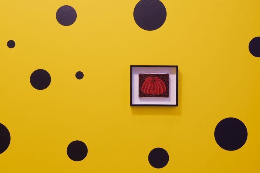 Small Pumpkin Paintings by Yayoi Kusama