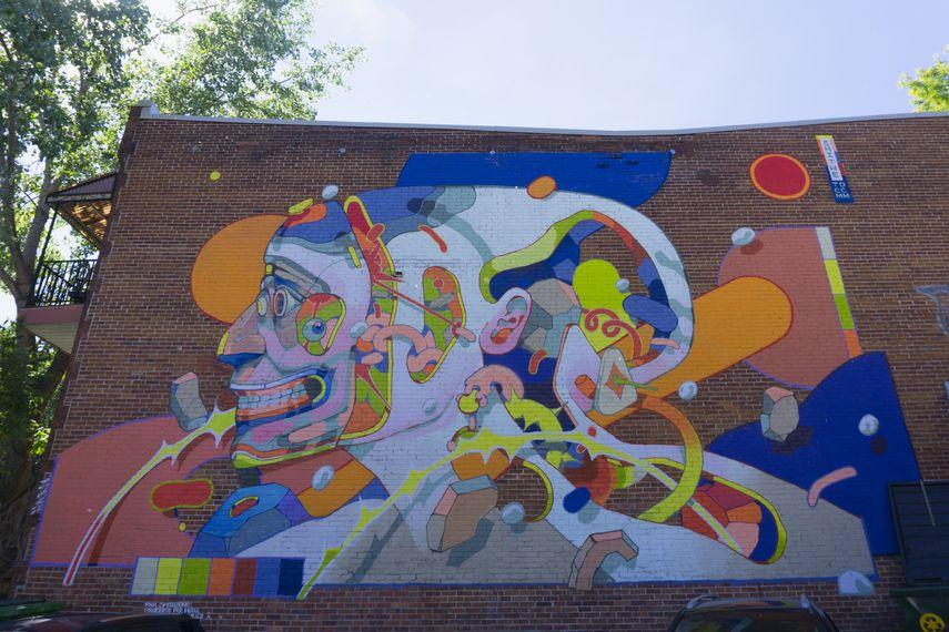 Smithe, Mural Festival 2018