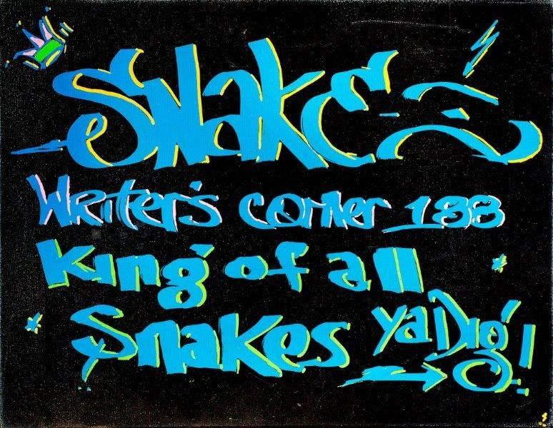 Snake 1-Writers Corner-2007