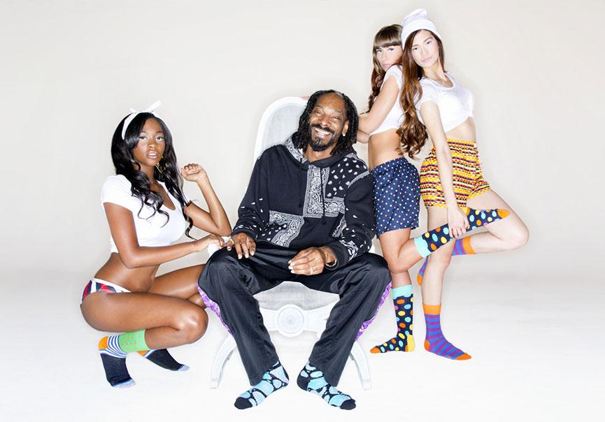 Snoop Dogg x Happy Socks