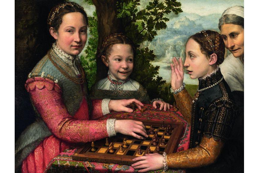 Sofonisba Anguissola - The Chess Game