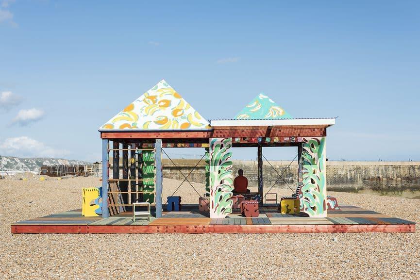 Sol Calero - Casa Anacaona, installation view at Folkestone Triennial, UK