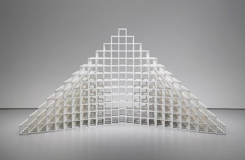 Biography of sol lewitt widewalls for Minimal art sol lewitt