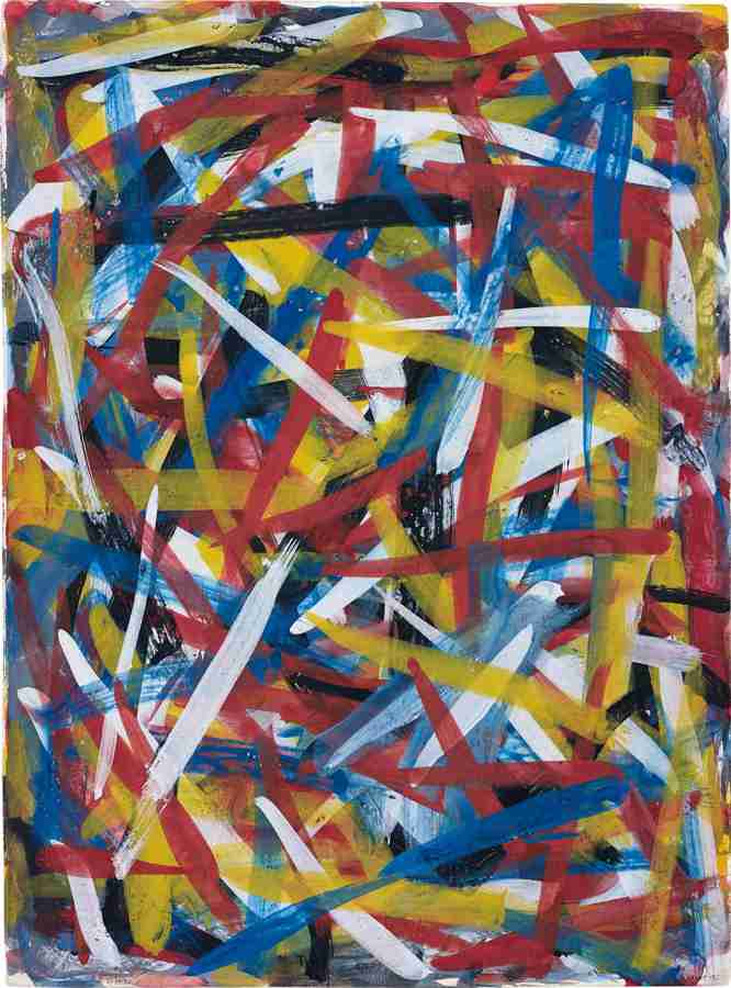 Sol LeWitt-Brushstrokes In All Directions-1992
