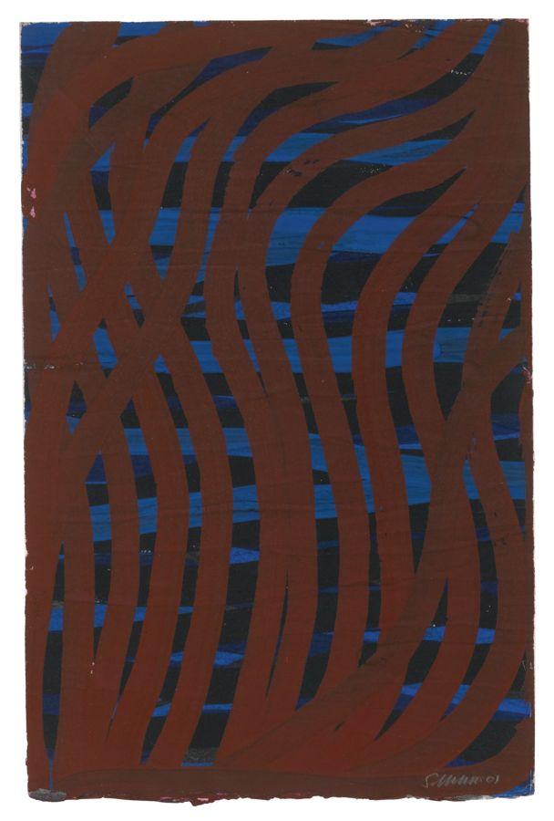 Sol LeWitt-Irregular Grid-2001