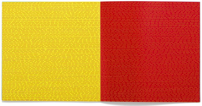 Sol LeWitt - Lines & Color. find artists' book and work on paper in museum press and book section