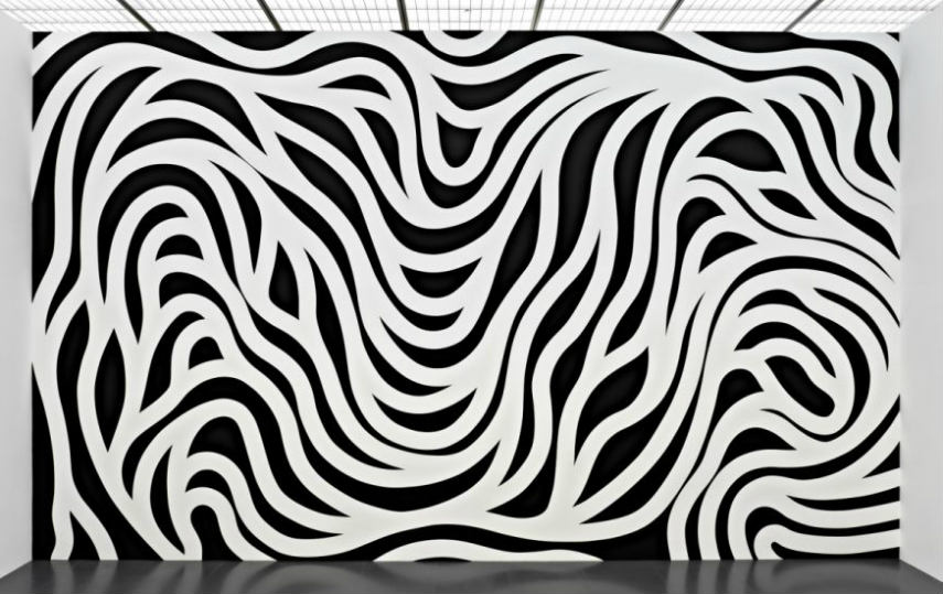 Sol LeWitt - Wall Drawing #8791, photo credits publicdelivery.org work artist artists form works museum paper modern