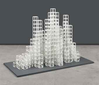Sol LeWitt-Irregular Towers (L)-1999