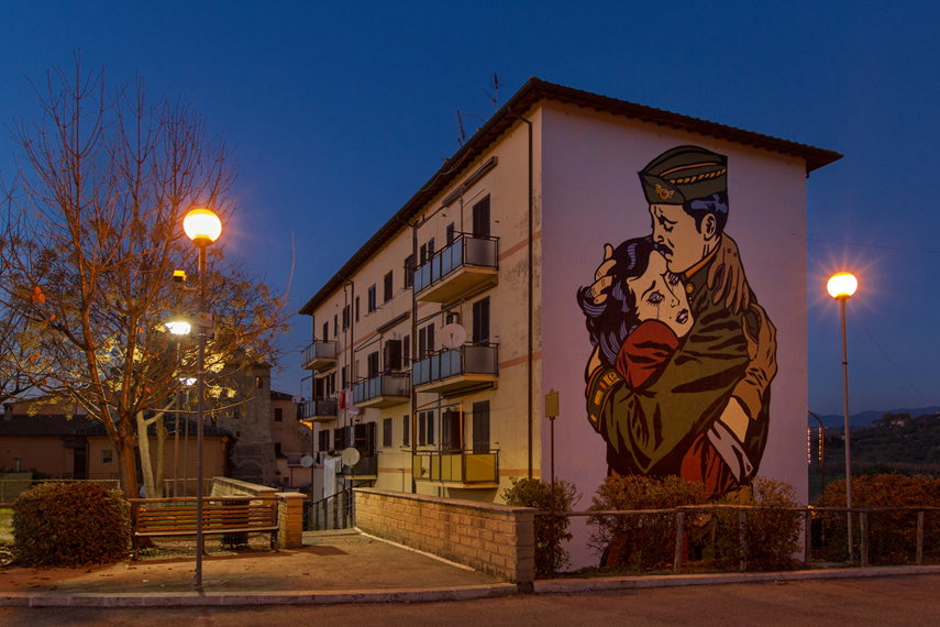 Solo - The people never win during war, Selci, Sabina, Italy, photo credits ©BlindEyeFactory