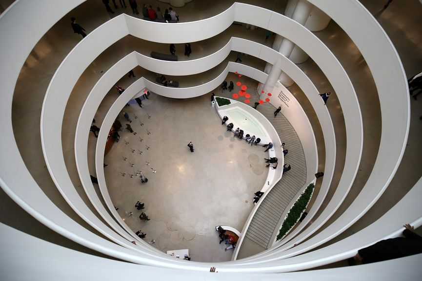 Frank Lloyd Wright - Solomon R. Guggenheim Museum, New York, Interior