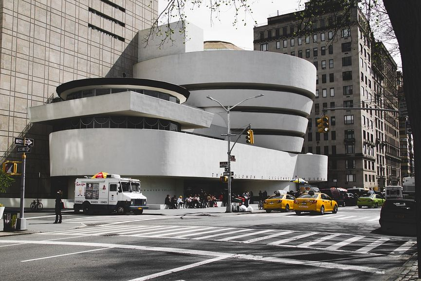Frank Lloyd Wright - Solomon R. Guggenheim Museum, New York, one of the World Heritage sites selected by UNESCO
