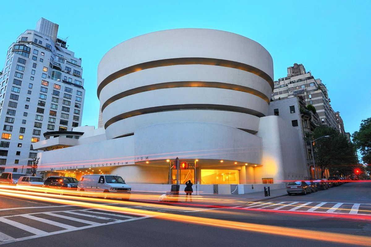 Modern Art Museum Outside Washington Dc