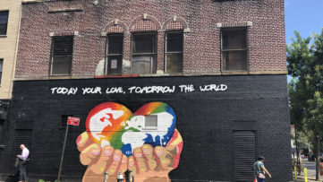 Solus Today your love, Tomorrow the world, WorldPride NYC 2019