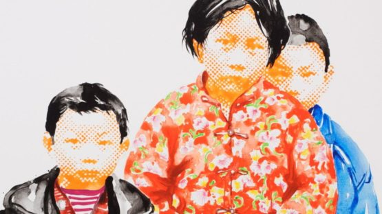 Song Ling - Brothers and sisters (detail), 2013