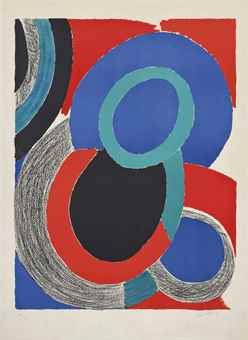 Sonia Delaunay-Boule Noire-1960
