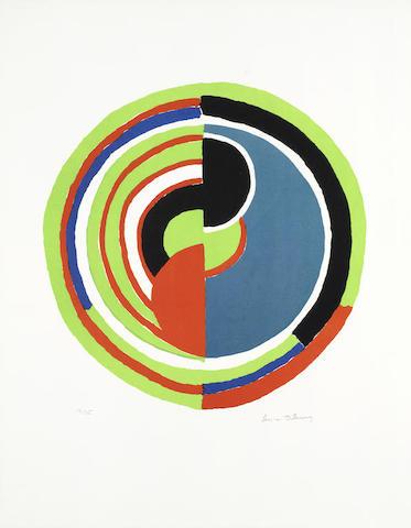 Sonia Delaunay-Cible-1970