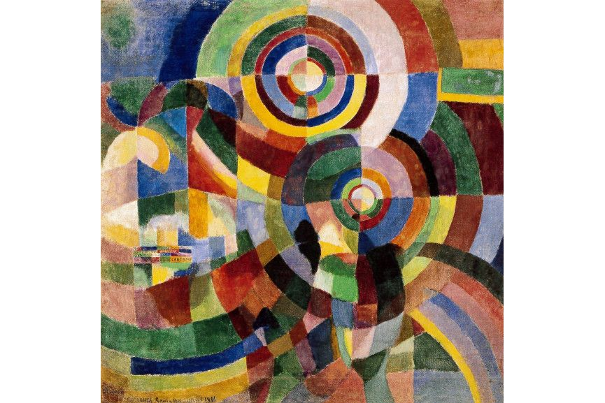 Sonia Delaunay - Electric Prisms, 1914 - Image via tateorguk