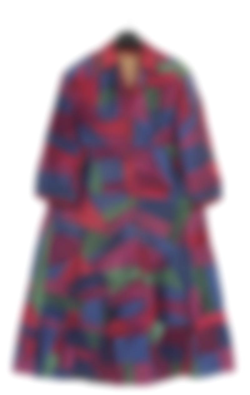 Sonia Delaunay Attributed - Patchwork Robe-1925