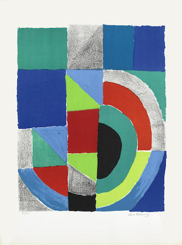Sonia Delaunay-Rectangle Rouge-