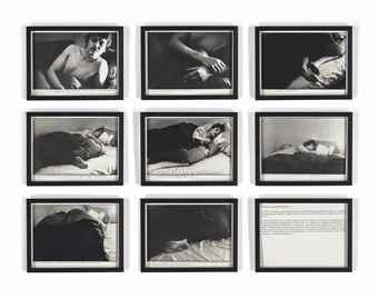 Sophie Calle-Les dormeurs - Patrick X-1980