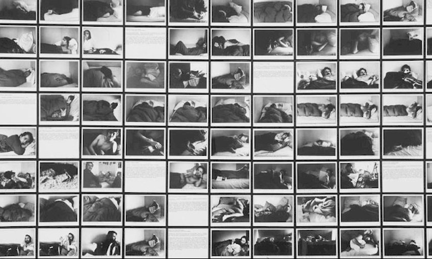 Sophie Calle -The Sleepers Use - Image via New York gallery