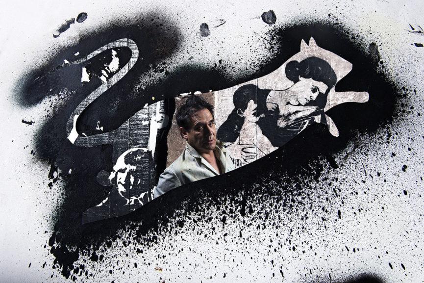 Soren Solkaer - Blek le Rat (France), Paris 2014