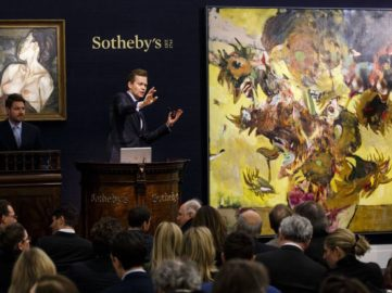 Sotheby's Auction - Image via newsoftheartworldcom
