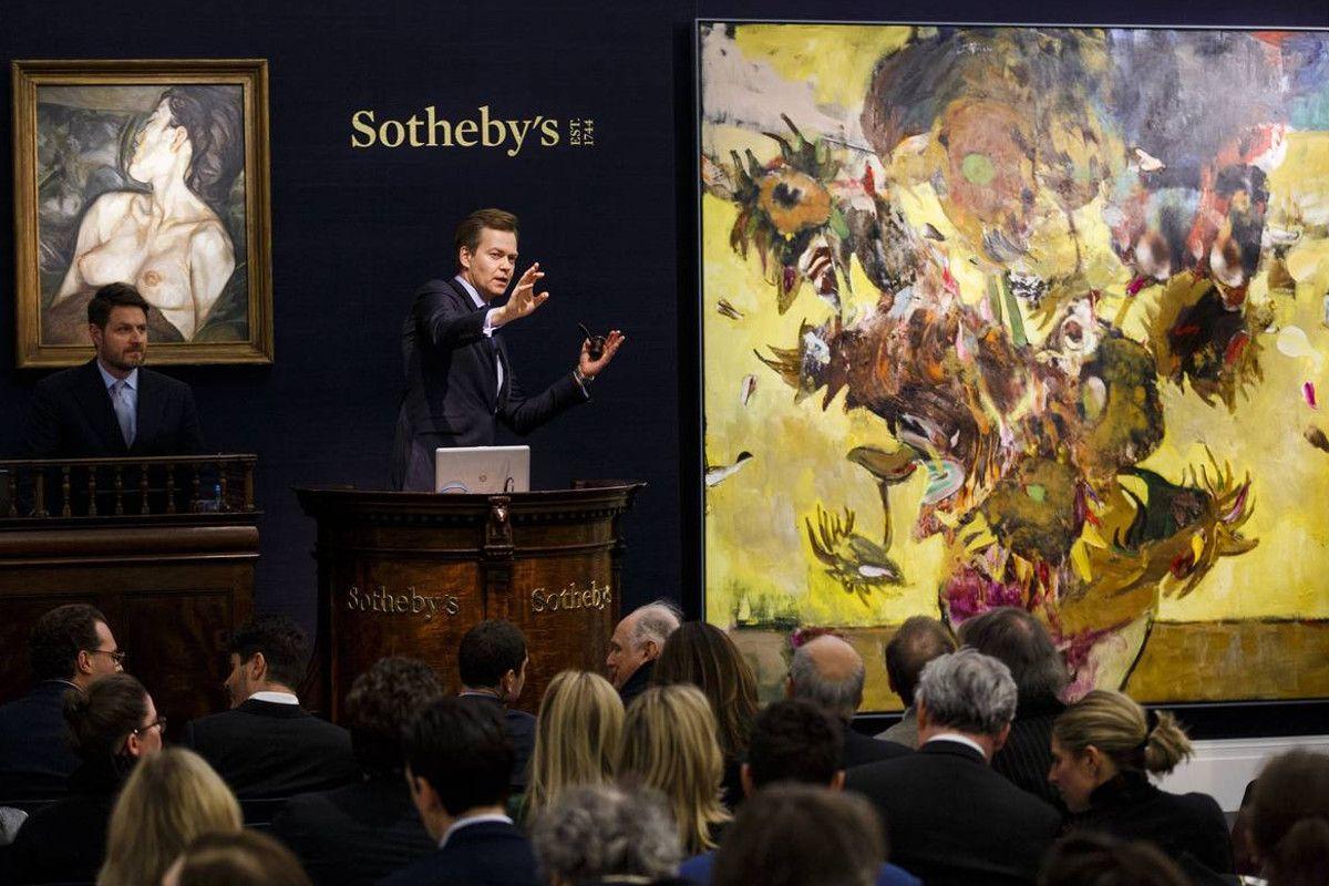 Sotheby's Auction - Image via newsoftheartworldcom