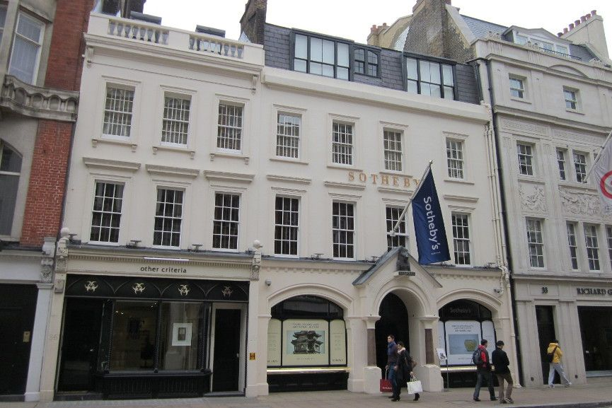 Sotheby's London via wikimedia commons
