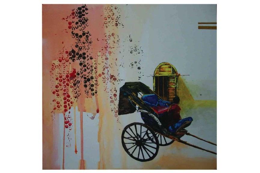 Soumya K. Chakraborty - Reconstruction II, 2013
