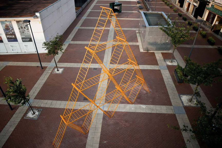 SpY- Pyramid, Vitoria, Spain 2013, via spy-urbanart com