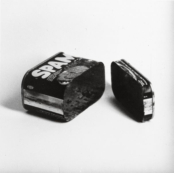 Spam (Cut in Two), 1961 Ed Ruscha