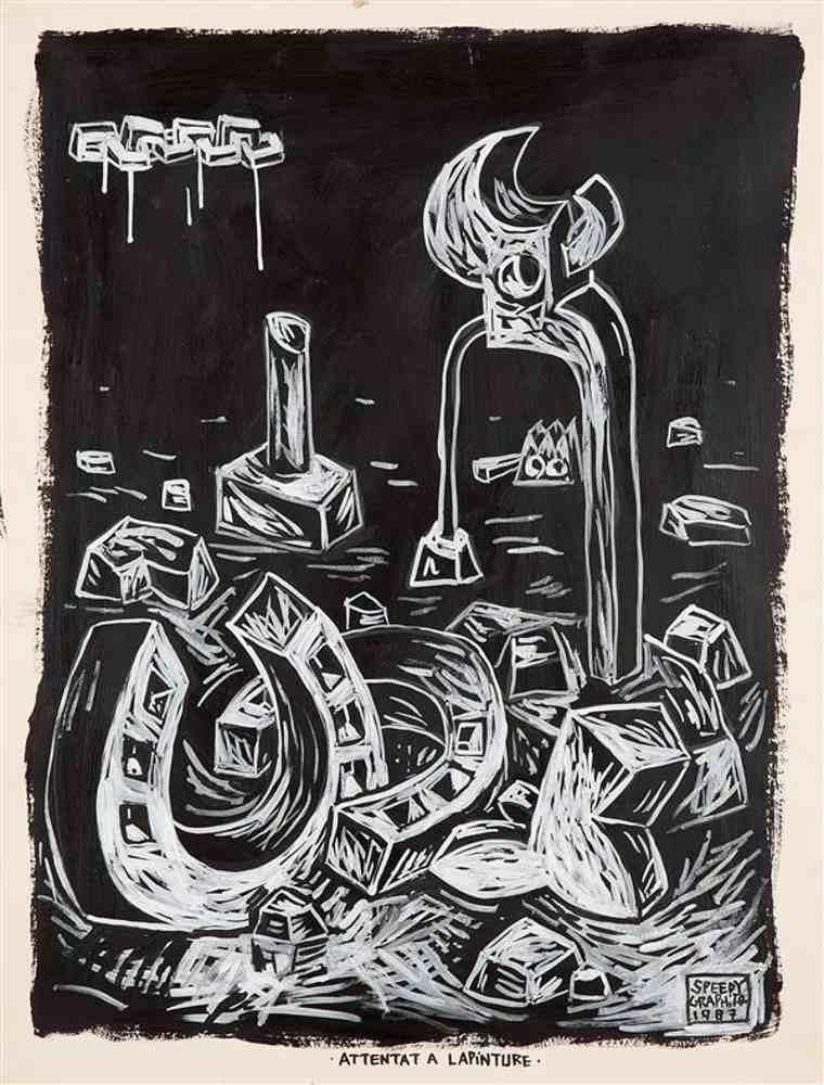 Speedy Graphito-Attentat a la pinture-1987