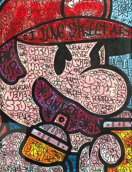 Speedy Graphito-Mario Art-2013