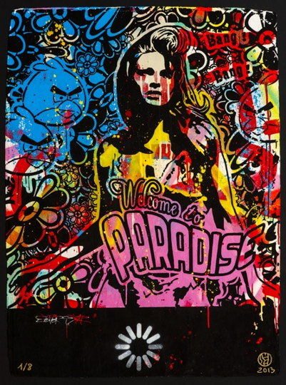 Speedy Graphito-Welcome To Paradise-2013