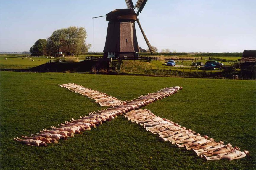 Spencer Tunick - Netherlands 5 (Dream Amsterdam Foundation) 2007