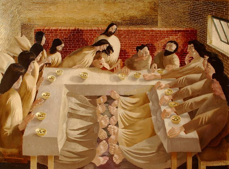 Stanley Spencer - The Last Supper