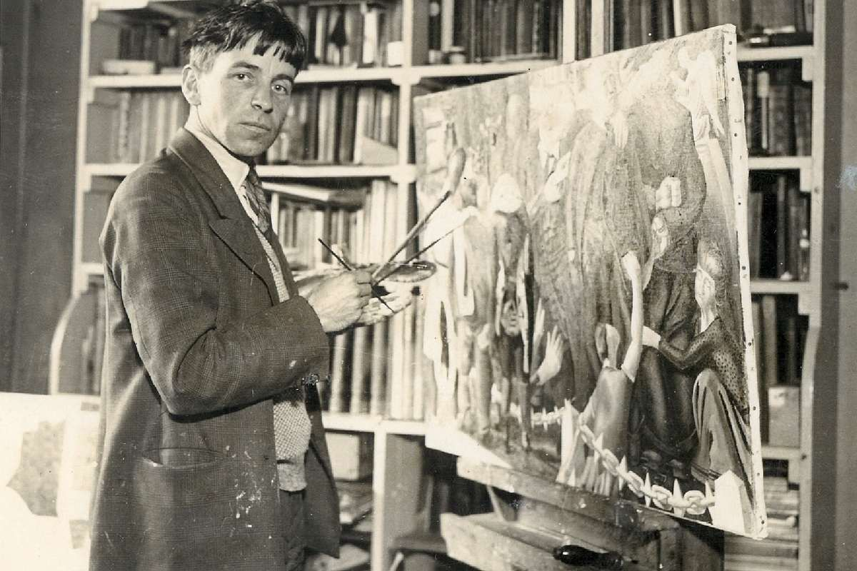 Stanley Spencer painting