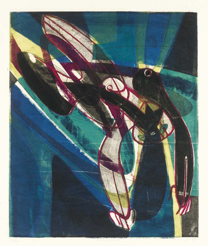 Stanley William Hayter-Falling Figure-1947