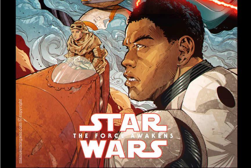 star wars art awakens
