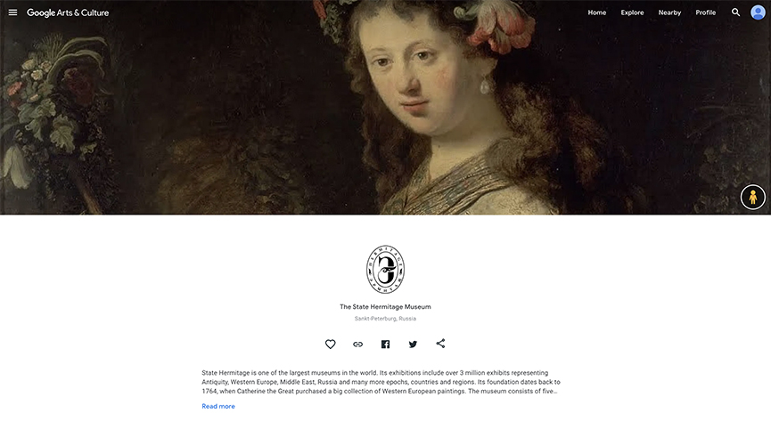 State Hermitage Museum Google Arts & Culture