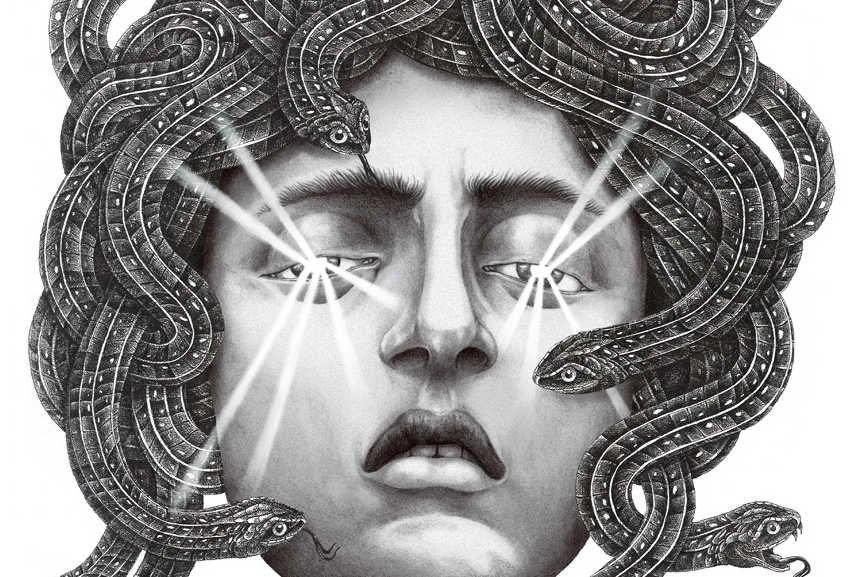 Steeven Salvat - Medusa, detail