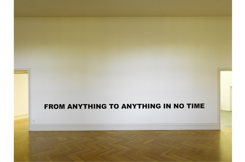 Stefan Brüggemann - From Anything to Anything in No Time 2007