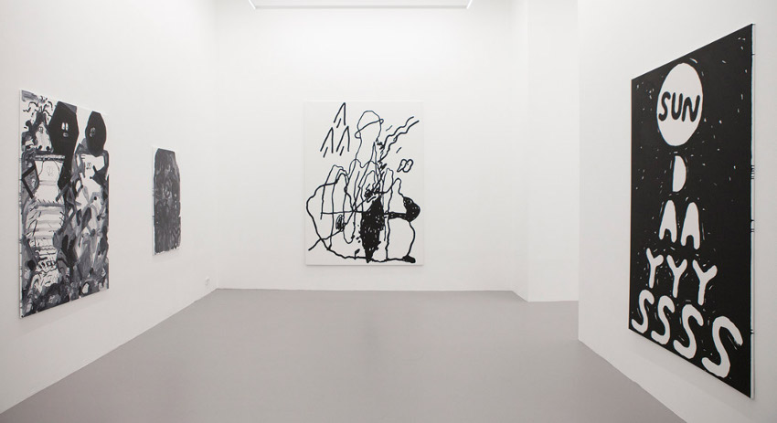 Stefan Marx - In Dreams - Ruttkowski;68, Cologne - 2015 - installation view