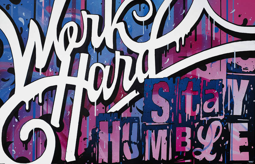 Stephane Koyama Meyer - Work Hard, 2016
