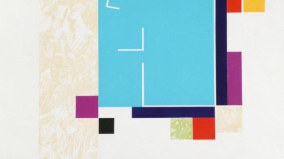Stephen Antonakos - Untitled Print H, 1990 (detail)